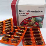 Supplementare nutrizionale, capsule di Multivitamin Softgel