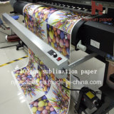 papier sec rapide à grande vitesse de Transfe de la chaleur de la sublimation 100GSM pour le tissu