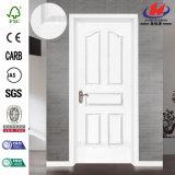Moderm weiße festes Holz-Haupttür