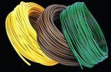 Cable flexible 26AWG del caucho de silicón con 006
