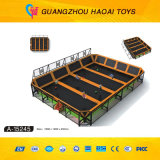 Parque popular do Trampoline dos miúdos da alta qualidade para o parque de diversões (A-15248)