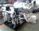 Pompe centrifuge à plusieurs étages verticale à haute pression d'acier inoxydable