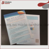 Изготовленный на заказ печатание листовки для рогек или печатание брошюры