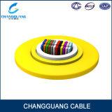 Cabo interno Gjfdv da fibra da fita do fabricante de fibra óptica do cabo