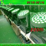 Pista móvil de la luz LED del zoom del profesional 36PCS RGBW 4in1