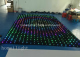 DJ Backdrop Vision Curtain, LED Video Cloth mit 30 Different Programs in Sd Card