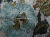 Tela del sofá de la materia textil del hogar de la tapicería del poliester del telar jacquar de la flor (HD5134141)