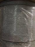 Heiß-Eingetauchtes galvanisiertes Stahldrahtseil 6*19s+FC 6mm