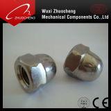 Écrou en caoutchouc galvanisé en acier au carbone DIN1587