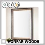 Molde natural do frame do espelho da madeira contínua da hospitalidade