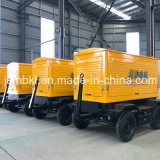 Mobiler leiser Cummins Dieselgenerator des Schlussteil-75kw-150kw (wahlweise freigestellte Marken für Motor)