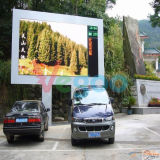 Buena pantalla al aire libre impermeable de la visualización video LED de SMD2727 P4.81