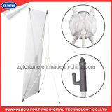 Ausdehnbarer 60X160 80X180 X Fahnen-Standplatz der Produkt-Ausstellungsstand-