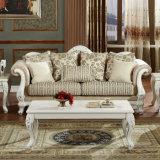 Sofá de madeira clássico da HOME da antiguidade do sofá da sala de visitas