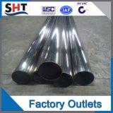 tubo de acero inoxidable soldado 201 202 304 316L 304L 316
