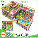 Оборудование спортивной площадки цветастых детей безопасности коммерчески крытое