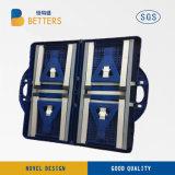 Pique-nique se pliant en plastique portatif Campingtable de valise de gosses