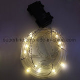 Outdoor Home Decorativo Warm White Flexible Tube LED Fairy Light com cintilação bonita