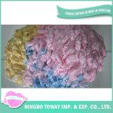 Tampão de tecelagem do inverno que tricota manualmente o fio extravagante -2 do algodão
