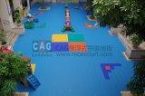 Suelo especial del jardín de la infancia de Cag, suelo modular, suelo que se enclavija, suelo portable