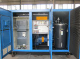 El petróleo engañó el compresor de aire variable de la frecuencia del tornillo rotatorio (KF220-08INV)