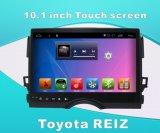 De androïde GPS van het Systeem Navigatie van de Auto voor Toyota Reiz het Scherm van de Aanraking van 10.1 Duim met Bluetooth/WiFi/TV/MP4