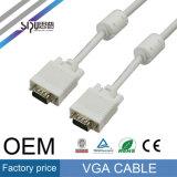 プロジェクターLCDのためのVGAケーブルへのSipu 3+5 HD15pin VGA