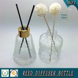 Bottiglia di vetro dell'alto dell'aroma diffusore materiale bianco della canna