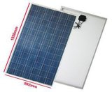 módulo monocristalino del panel solar del silicio del vatio 100W