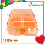 geval van de 5 compartimenten het Vouwbare pil (pH1415)