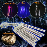 8PC / Set 240LED High Quality 2 ans Garantie RoHS RoHS LED Christmas Meteor Shower Rain Tube Lights