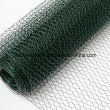 高品質のステンレス製のSteel/PVC上塗を施してある六角形の金網