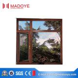 熱昆虫スクリーンが付いている壊れ目によって二重ガラスをはめられる開き窓のWindows