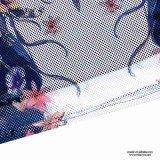 Comerciante de la alineada floral del negro del acoplamiento de las mujeres de Srta. You Ailinna 102980