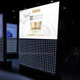 단면도 알루미늄 프레임 직물 가벼운 상자를 광고하는 높은 광도 LED