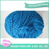 Mão Knitting Weaving Escada Poliéster Cotton Fios fantasia -5