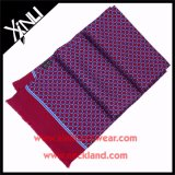 Sciarpa di seta stampata saia di alto modo 14mm con la nappa