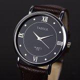 279 het eenvoudige Horloge van het Paar van het Kwarts van het Ontwerp Goedkope Minimalistische Unisex-