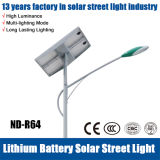 luz de calle solar de 20W-140W LED para la carretera, jardín, área pública