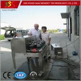 Piccola macchina del filetto di pesce SSS-521, acciuga, macchina della farfalla dei pesci della sardina, macchina della taglierina della spina dorsale dei pesci