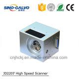 Escáner del galvanómetro de la fibra de la abertura del haz de Digitaces Jd2207 12m m de alta competitividad