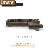 Wohnzimmer-/im Freien moderner GroßhandelsEdelstahl-langer Stuhl