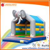 Gorila combinada de salto del castillo de la nueva palmera inflable del diseño 2017 (T1-520)