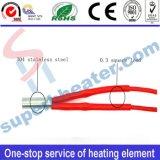elemento de calefacción industrial del calentador del cartucho del acero inoxidable de la impresora 3D