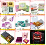 Pantone 실크 스크린 또는 오프셋 인쇄 생일 케이크 판지 상자