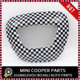 Couverture à lecture tête haute d'écran de couleur Chequered pour Mini Cooper toute la série (1PC/Set)