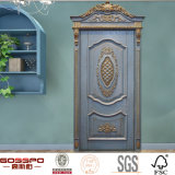 Porte en bois intérieure avant en bois normale pour les maisons (GSP2-069)