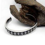 Acessórios de forma góticos do aço inoxidável das pulseira 316L do punho dos homens
