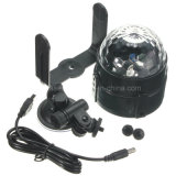 Mini LED Partido Rgbywp Luz Disco Club DJ Cristal Magic Ball Efeito Luz de Palco 5V 1A