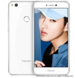en el archivo original Huawei Honor 8 Lite teléfono celular Hisilicon Kirin 655 5.2 pulgadas 4 GB de RAM Tarjeta de 32GB ROM Dual SIM Anverso Cámara Móvil blanca